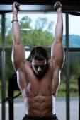 Ab Exercises — Zdjęcie stockowe