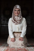 Portrait Of Young Muslim Woman — Stock Photo