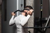 Back Exercise — Stock Photo