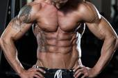 Strong Bodybuilder With Six Pack — Stock fotografie