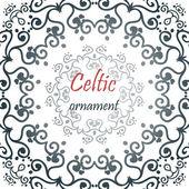 Mandala celtic ornament. — Stockvektor