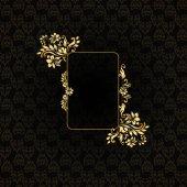 Luxury style design element. — Stock Vector