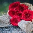 Red roses — Stock Photo #62613403