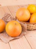 柑橘类水果葡萄柚 — 图库照片