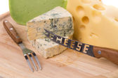 Différents fromages — Photo