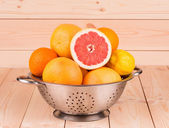 Halved citrus fruit  — Stock Photo