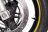 колеса мотоцикла — Стоковое фото