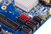 Electronic board close up.  — Stock Photo