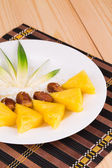 Cut pineapples  — Stockfoto