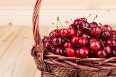 Cerezas frescas — Foto de Stock