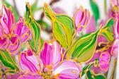 Painting of the beautiful flowers.  — Stockfoto