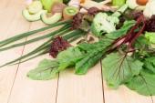 Verduras frescas. — Fotografia Stock