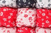 Sewed quilt — Stock Photo