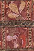 Handmade sewed quilt — Stock Photo