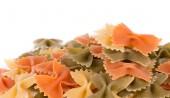 Bunch of the farfalle pasta — Stock Photo