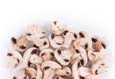 Sliced champignons.  — Stock Photo