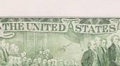 Doları banknot — Stok fotoğraf