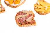 вкусные бутерброды — Стоковое фото