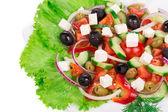 Greek salad.  — Stock Photo