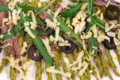 Asparagus salad  — Stock Photo