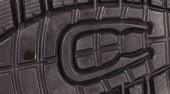 Black shoe sole.  — Stock Photo