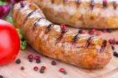 Pork sausages  — Stock Photo
