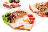 Traditional Full English Breakfast — Stock Photo