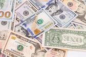 Different dollar bills — Stock Photo