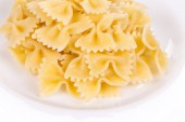 Pasta on the plate. — Stock Photo