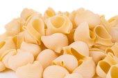 Uncooked italian pasta. — Stock Photo