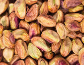 Close up van verse pimpernoten (pistaches. — Stockfoto