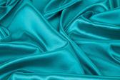 Blue silk drapery. — Foto de Stock