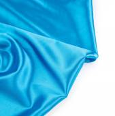 Blue silk cloth — ストック写真