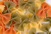 Heap of farfalle pasta. — Stock Photo