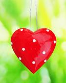 Vintage heart with space for your text — Foto Stock