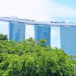 View of Marina Bay Sands in Singapore — Stock Photo #65047659