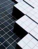 Abstract architecture of a modern building — Stock Photo