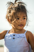 Young Pacific Islander girl — Stock Photo