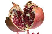 Pomegranate on the isolated background — Stock Photo