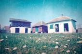 Vintage image - rural landscape 3 — Zdjęcie stockowe