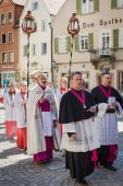 Annual Corpus Christi procession — Stock Photo