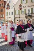 Annuale processione del Corpus Domini — Foto Stock