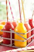 Variety of smoothies — Foto de Stock