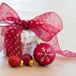 Little gift box with ribbon — Stock Photo #55688305