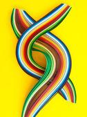 Colorful paper strips — Zdjęcie stockowe