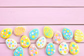 Colorful cookies with polka dots — ストック写真