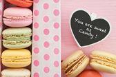 Colorful macarons — Stock Photo