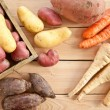 Variety of winter vegetables — Stock Photo #64000875