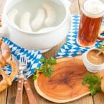 Bavarian white sausages — Stock Photo #70657967