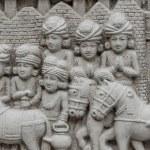 Ancient civilians caravan during the Buddha's lifetim — Stock Photo #58274069